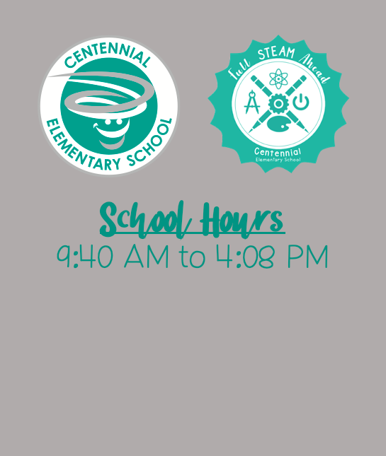 School Hours 9:40 AM – 4:08 PM