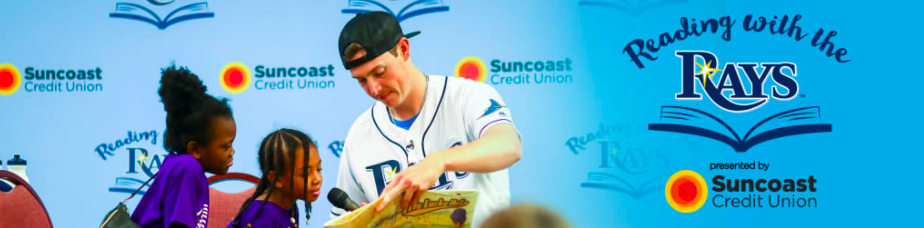 Summer Reading with the Tampa Bay Rays!